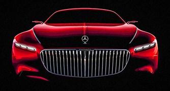 Coupe siêu sang Mercedes-Maybach Vision 6 sẽ cạnh tranh với Rolls Royce Wraith