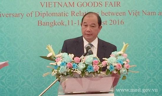 Khai mạc Hội chợ hàng Việt Nam tại Băng Cốc và Diễn đàn doanh nghiệp Việt – Thái