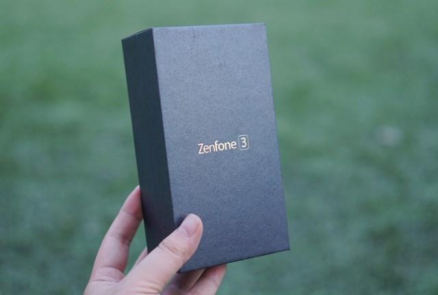 Mở hộp Asus Zenfone 3: Kiểu dáng mới, cấu hình ổn
