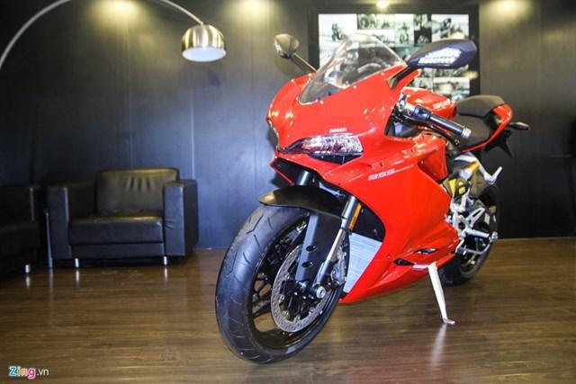 Ducati 959 Panigale bản Thái Lan giá 592 triệu đồng tại VN