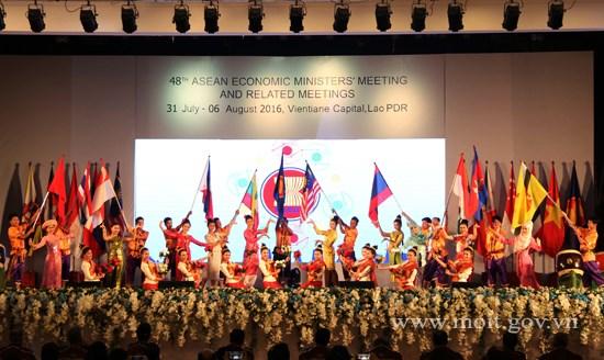 Khai mạc Hội nghị Bộ trưởng Kinh tế ASEAN lần thứ 48 và các Hội nghị liên quan