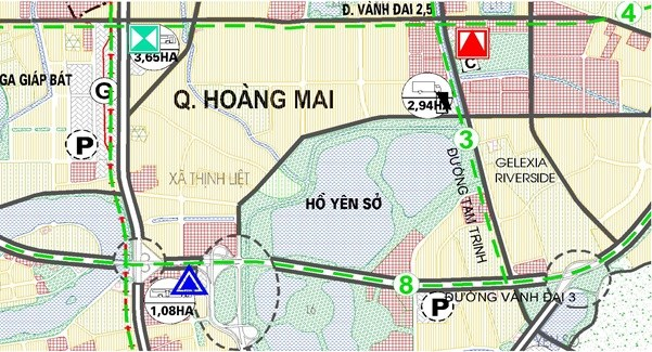 Hoàng Mai - Quận phía Nam Hà Nội hút khách mua căn hộ