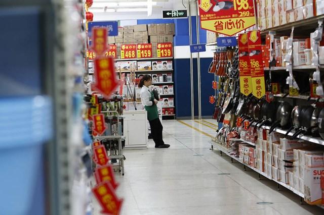 Lĩnh vực dịch vụ của Trung Quốc tháng 12 tăng trưởng cao nhất 3 năm