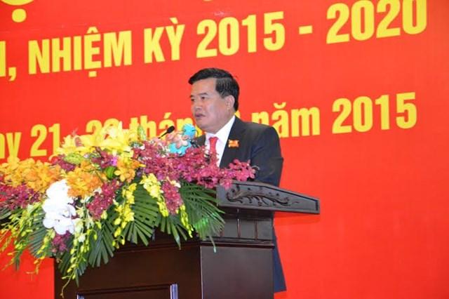 Ông Vũ Văn Cường tái cử Bí thư Đảng ủy Vinataba