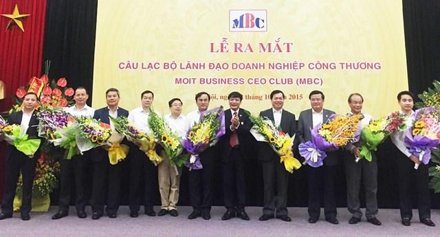 Ra mắt Câu lạc bộ Lãnh đạo doanh nghiệp Công Thương