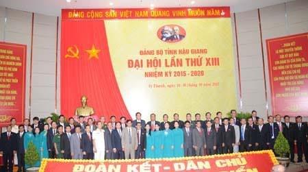 Ông Trần Công Chánh giữ chức Bí thư Tỉnh ủy Hậu Giang