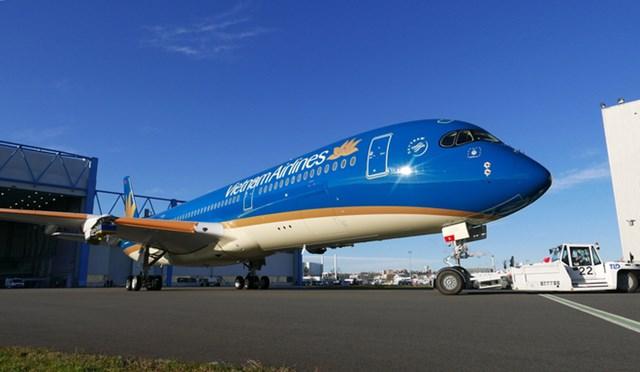 Vietnam Airlines đón chiếc máy báy A350 đầu tiên