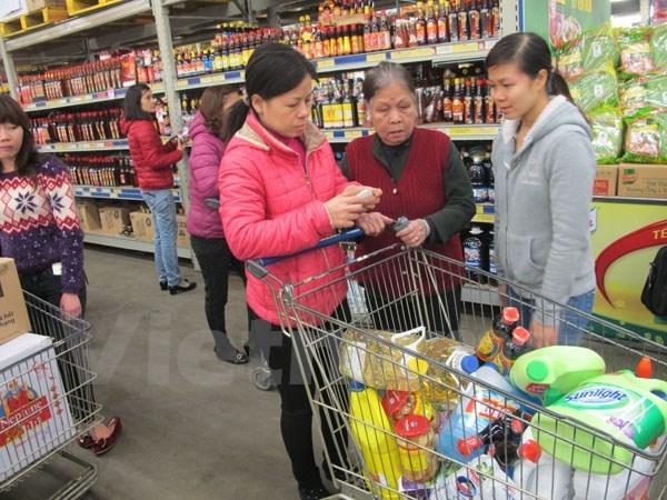 Hà Nội: Lượng hàng bán lẻ lưu chuyển dịp Tết Bính Thân tăng tới 15%