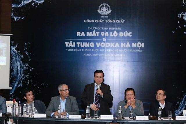 Halico ra mắt sản phẩm 94 Lò Đúc và tái tung dòng Vodka Hà Nội