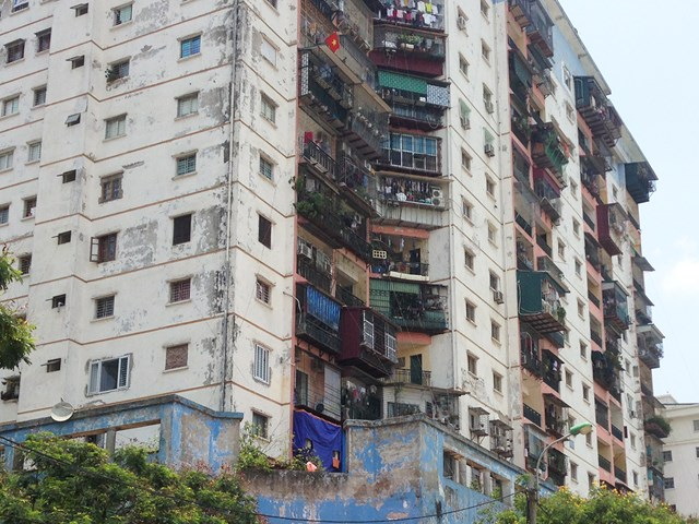 Hà Nội sắp có thêm nhiều khu chung cư xập xệ