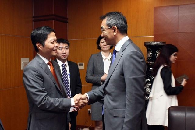 Bộ trưởng Trần Tuấn Anh làm việc với Bộ trưởng Ngoại giao Mông Cổ
