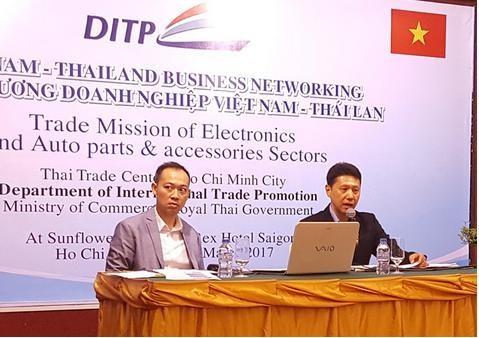 Thái Lan mong muốn hợp tác phát triển ngành điện lạnh, điện tử với Việt Nam