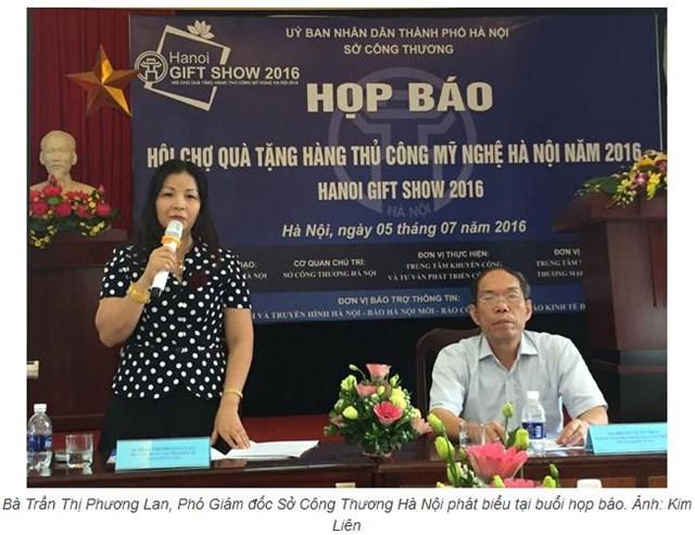Hơn 600 gian hàng sẽ tham gia Hội chợ Hanoi Gift Show 2016