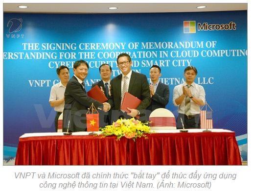 Microsoft, VNPT hợp tác thúc đẩy các lĩnh vực công nghệ quan trọng