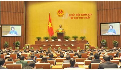 Khai mạc kỳ họp thứ nhất, Quốc hội khóa XIV