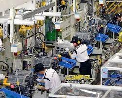 Chỉ số sản xuất toàn ngành công nghiệp tăng nhẹ