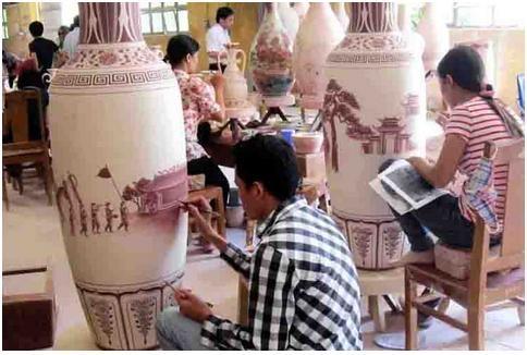 Xuất khẩu sản phẩm gốm, sứ kim ngạch tăng trở lại