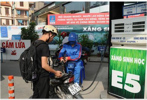 Hà Nội chuyển đổi kinh doanh xăng E5: Bảo đảm lộ trình