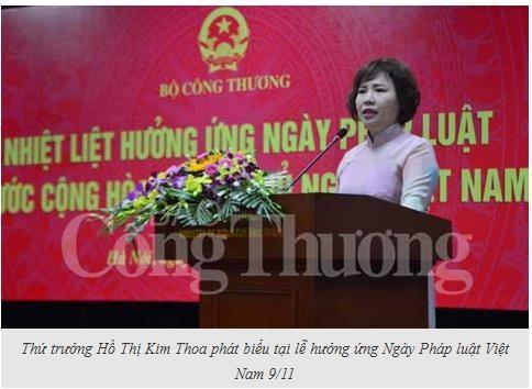 Bộ Công Thương hưởng ứng Ngày Pháp luật Việt Nam
