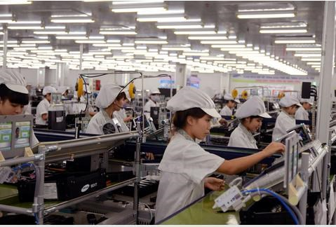 Chỉ số sản xuất toàn ngành công nghiệp 9 tháng 2017 tăng 7,9%