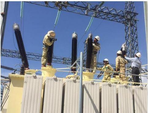 Đóng điện máy biến áp thứ hai Trạm biến áp 220 kV Thạnh Mỹ