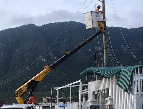 Điện lực TT Huế - Quảng Trị: Tăng cường khắc phục sau bão tại Khánh Hòa và Phú Yên