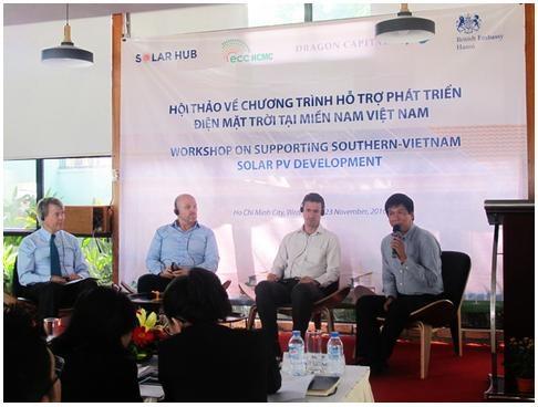 Sơ kết Chương trình hỗ trợ phát triển Điện mặt trời tại miền Nam Việt Nam