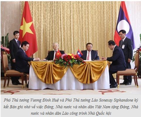 Việt Nam, Lào ký kết 7 văn kiện hợp tác