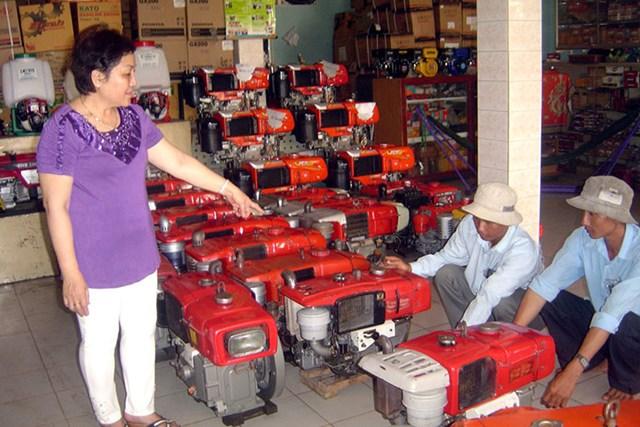 """Ngành cơ khí nông nghiệp: """"Lép vế"""" trên sân nhà"""