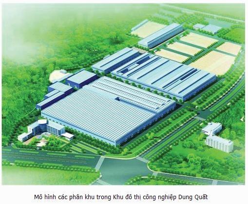 Triển khai Dự án Khu đô thị công nghiệp Dung Quất từ quý III/2016
