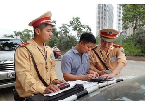 Được sử dụng Giấy đăng ký photo khi tham gia giao thông