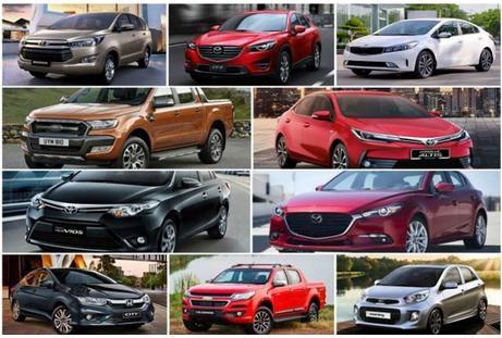Hàng loạt ôtô giảm giá dịp cận Tết
