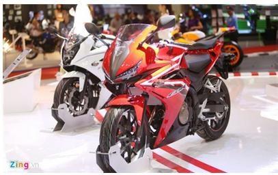 TT xe máy 6 tháng đầu năm 2017: nhập khẩu và tiêu thụ đều tăng