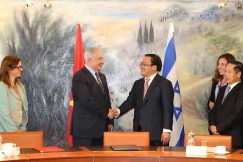 Việt Nam, Israel tuyên bố khởi động đàm phán FTA