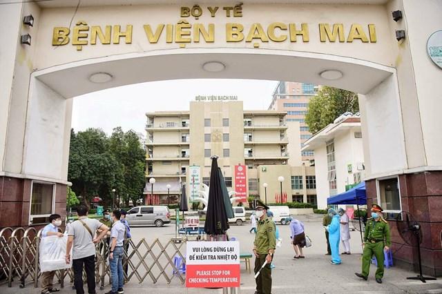 Hơn 6.600 mẫu bệnh phẩm tại Bạch Mai xét nghiệm âm tính