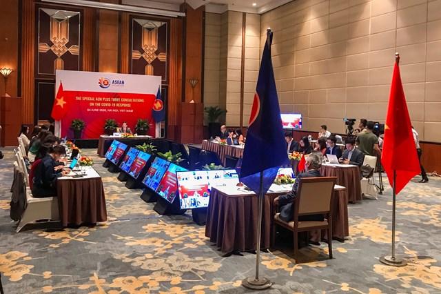 Tuyên bố chung cấp Bộ trưởng kinh tế ASEAN cộng ba về giảm thiểu tác động kinh tế