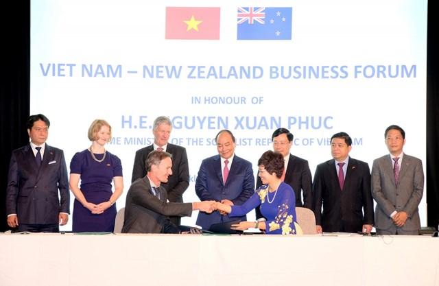 Việt Nam-New Zealand thực hiện mục tiêu đạt 1,7 tỷ USD