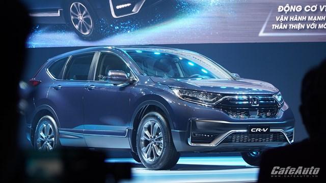 Thị Trường ô tô ngày 30/7: Honda Việt Nam ra mắt phiên bản CR-V lắp ráp trong nước