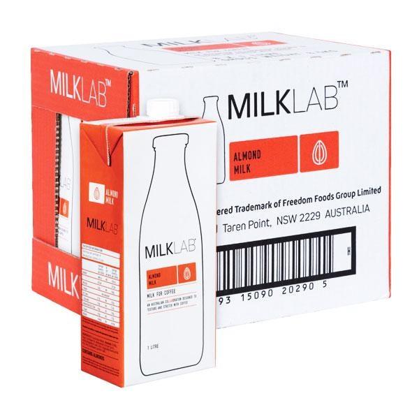 Thu hồi sữa hạnh nhân Milk Lab nhập khẩu từ Australia có khả năng bị nhiễm khuẩn