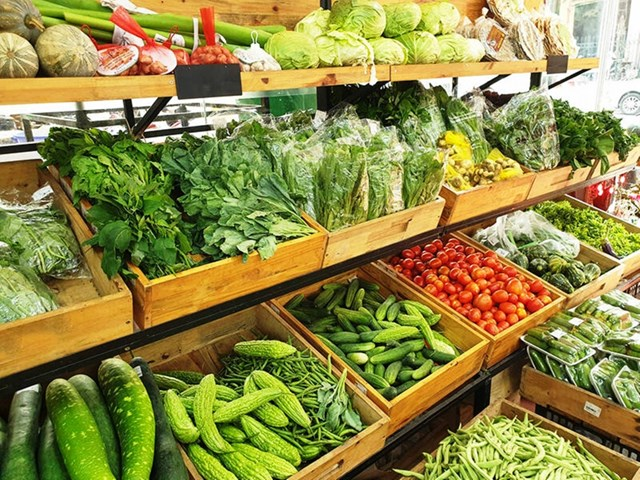 Giá thực phẩm ngày 26/5: Giá rau củ quả quay đầu tăng giá nhẹ