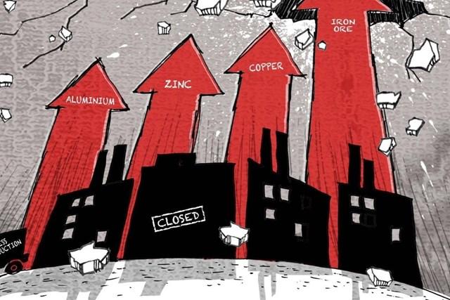 Bài toán giá nguyên liệu chưa giải, doanh nghiệp Trung Quốc như ngọn đèn dầu trước gió