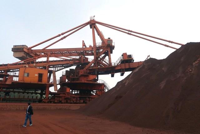 Giá quặng sắt ngày 10/8 chạm mức thấp  do nhu cầu của Trung Quốc giảm