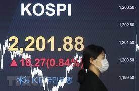 Cổ phiếu châu Á ngày 9/9 giảm do đồng USD ổn định