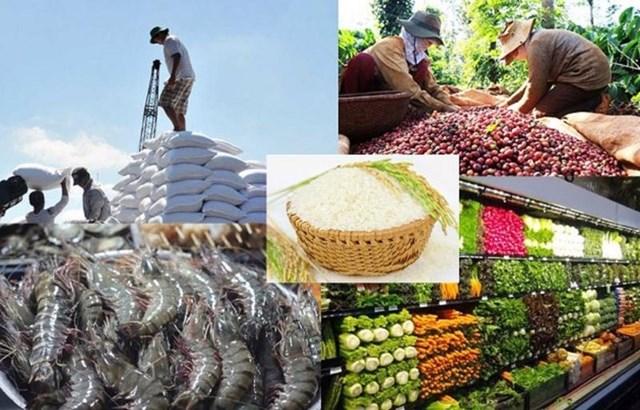 8 tháng năm 2021: Xuất khẩu nông lâm thủy sản đạt trên 32 tỷ USD