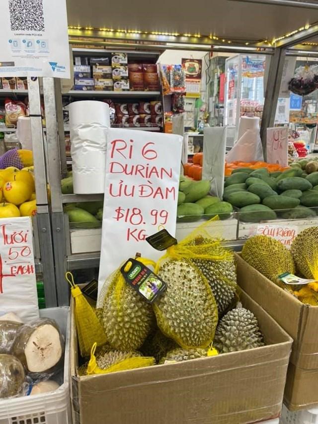 """Sầu riêng Ri6 của Việt Nam """"phủ sóng"""" thị trường Australia"""
