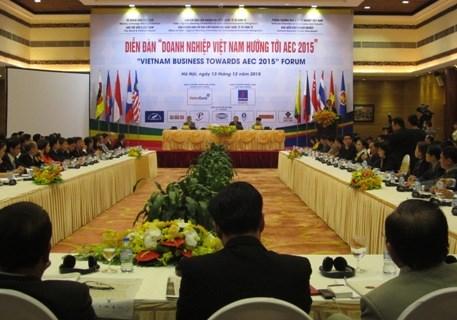 Gia nhập AEC: Nhà nước cần tăng cường thể hiện vai trò 'bà đỡ' cho DN