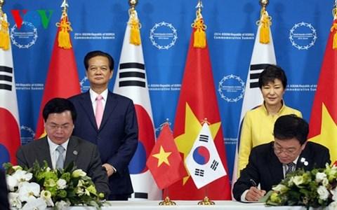Hiệp định Thương mại Tự do Việt Nam-Hàn Quốc có hiệu lực kể từ ngày 20/12/2015