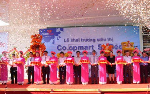 Saigon Co.op khai trương siêu thị Co.opmart thứ 2 tại Đồng Tháp