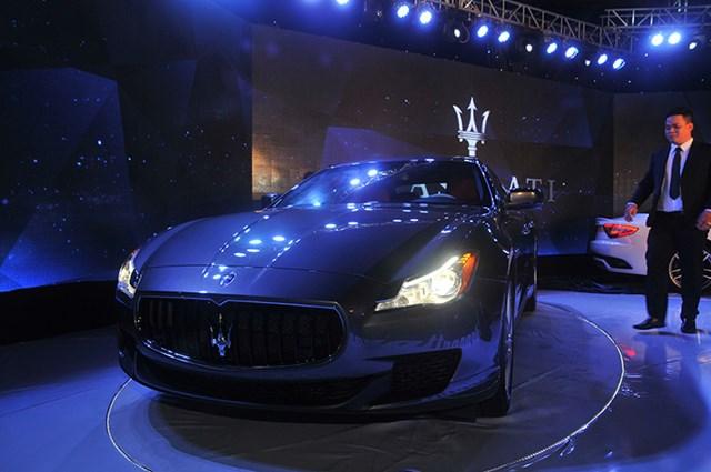 Hãng xe sang Maserati chính thức được phân phối tại Việt Nam