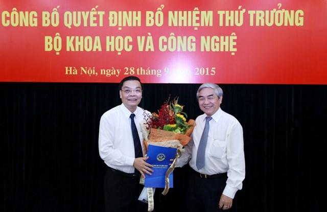 Nguyên Chủ tịch tỉnh Phú Thọ được bổ nhiệm Thứ trưởng Bộ KHCN